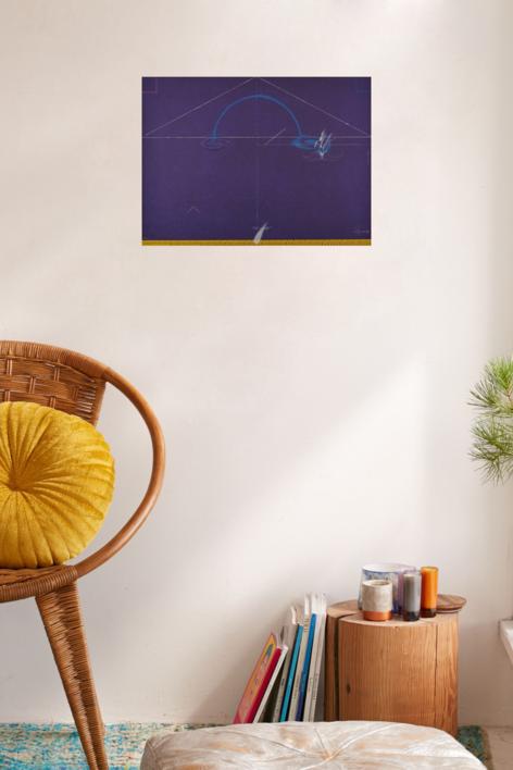 Entrebancs-6 | Obra gráfica de Joan Pere Viladecans | Compra arte en Flecha.es