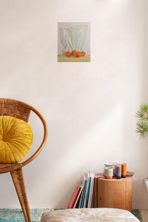Mandarinas | Pintura de Nacho Rodríguez Izquierdo | Compra arte en Flecha.es