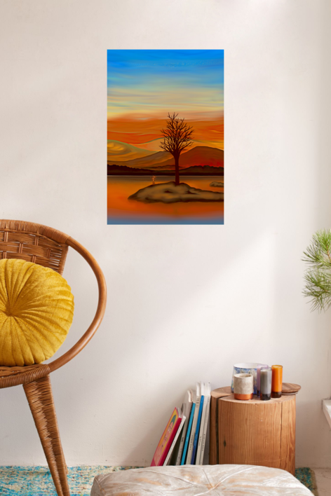 When The Sun Goes Down | Digital de Helena Revuelta | Compra arte en Flecha.es