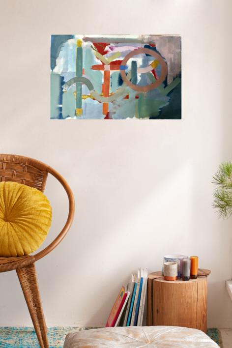 DA-SEIN VIII | Pintura de Iraide Garitaonandia | Compra arte en Flecha.es