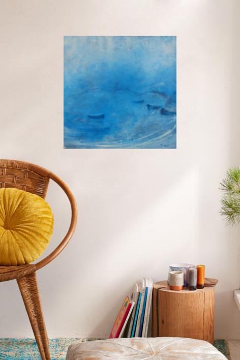 Puente de los Ingleses, Alcudia | Pintura de María Julia Bennassar | Compra arte en Flecha.es