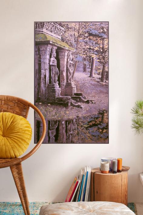 Jardin del Templo | Pintura de Victor Candela | Compra arte en Flecha.es