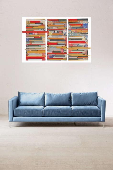 New York, London, Paris | Collage de Marina Muñoz Viada | Compra arte en Flecha.es