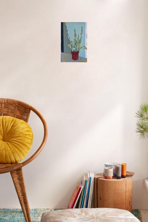 TULIPANES | Pintura de Iraide Garitaonandia | Compra arte en Flecha.es