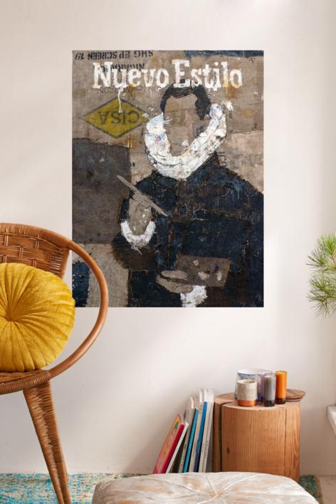 NUEVO ESTILO | Collage de Barbeito | Compra arte en Flecha.es