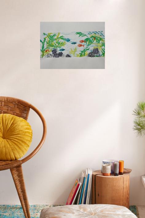 Profundidad 1 | Collage de Nélida Dias de campos | Compra arte en Flecha.es