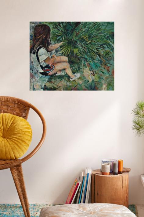 Buscando | Pintura de Amaya Fernández Fariza | Compra arte en Flecha.es