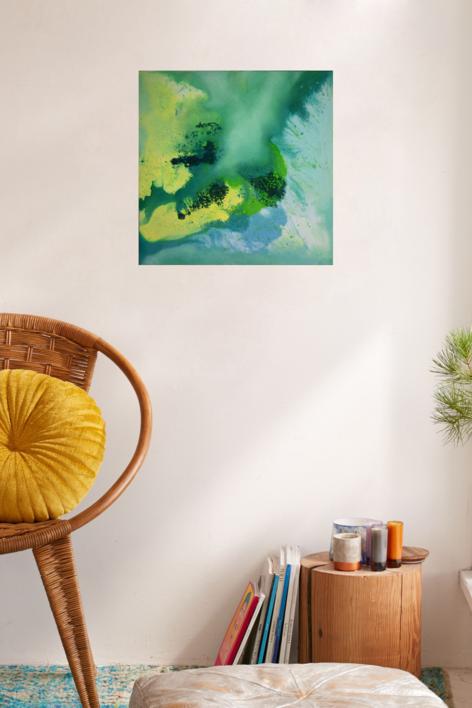 [aguas] X | Pintura de Elisa de la Torre | Compra arte en Flecha.es