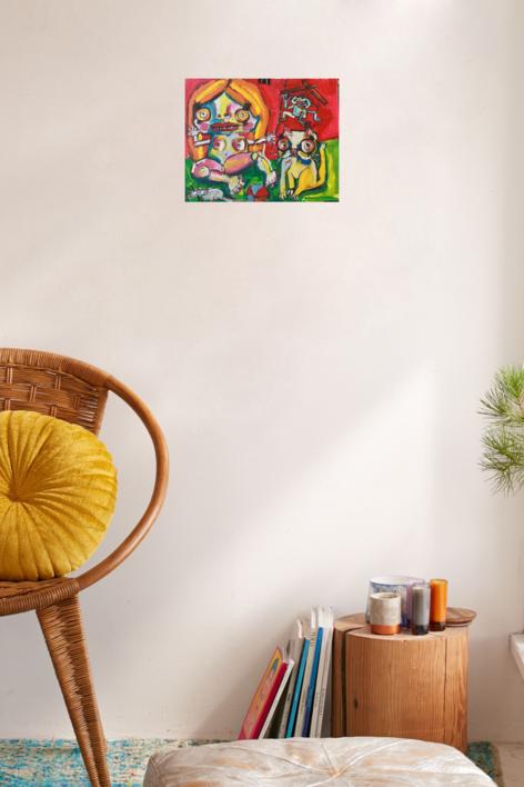 toy dolls | Pintura de Veo blasco | Compra arte en Flecha.es