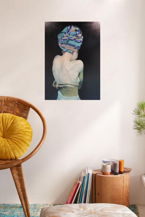 """Lotsa"", (Verguenza) | Pintura de Imma Peña | Compra arte en Flecha.es"