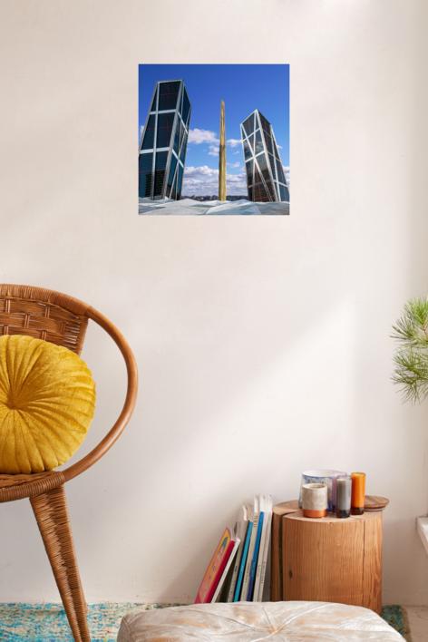 Torres Kio, Madrid | Digital de Andy Sotiriou | Compra arte en Flecha.es