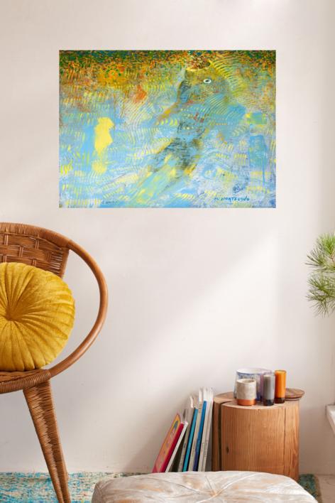 Formentor | Pintura de El Hortelano | Compra arte en Flecha.es