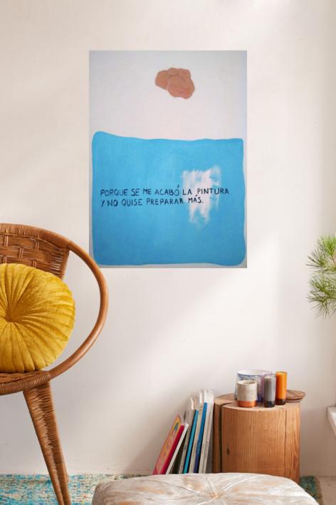 Pues eso | Collage de Cecilia Sebastian | Compra arte en Flecha.es