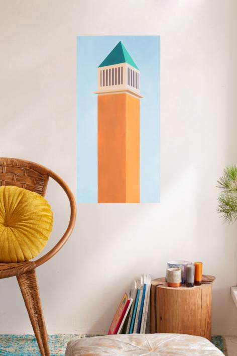 Torre veneciana   Pintura de Marcos Peinado   Compra arte en Flecha.es