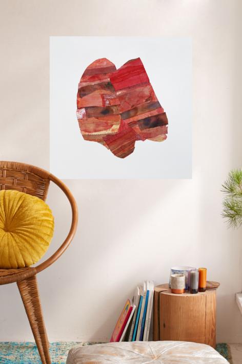 Shielding | Collage de Barbara Long | Compra arte en Flecha.es