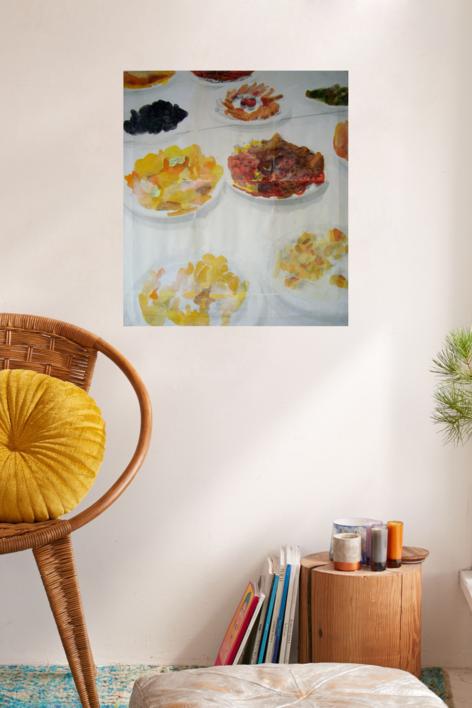 lo importante es con quien compartes el plato, no de qué está lleno VIII | Digital de Juan Carlos Rosa Casasola | Compra arte en Flecha.es