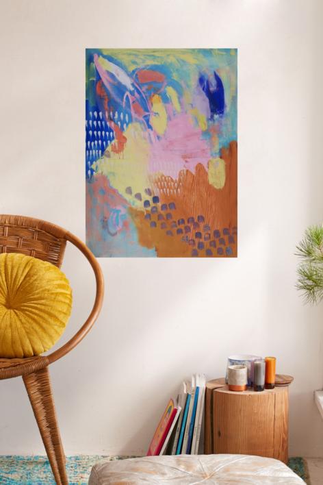 Sin título | Pintura de Cecilia Sebastian | Compra arte en Flecha.es