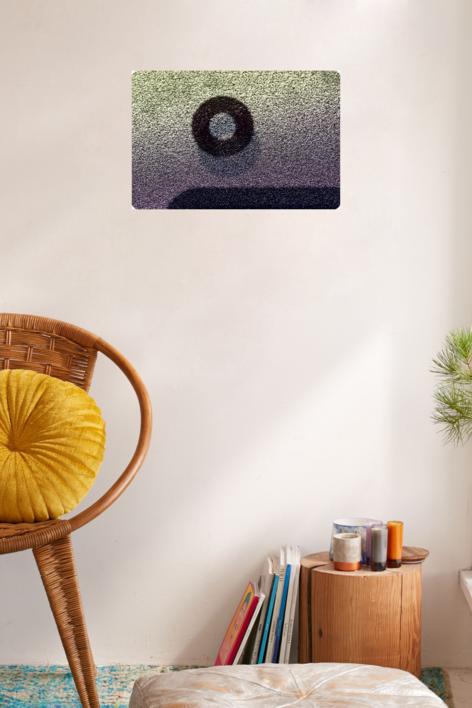 paisaje binario 00101 | Escultura de pared de Fernando Trocóniz | Compra arte en Flecha.es