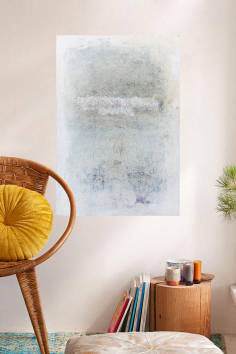 Whiteboard. Noise Serie I | Pintura de Ana Dévora | Compra arte en Flecha.es