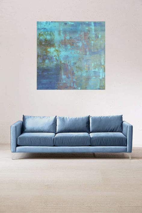Valor del Tiempo VIII | Pintura de Maria San Martin | Compra arte en Flecha.es