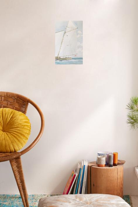 Velero   Pintura de Iñigo Lizarraga   Compra arte en Flecha.es