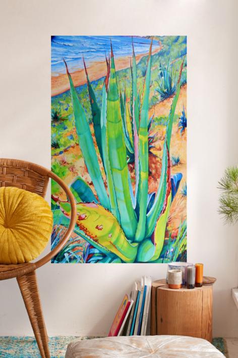 Fuentebravía | Pintura de Maite Rodriguez | Compra arte en Flecha.es