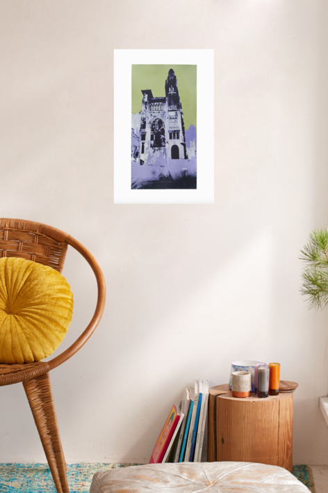 Vía Laietana (versión 2) | Obra gráfica de Jorge Castillo | Compra arte en Flecha.es