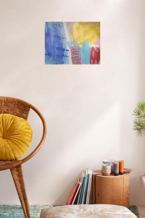 CHILDHOOD III | Pintura de Iraide Garitaonandia | Compra arte en Flecha.es