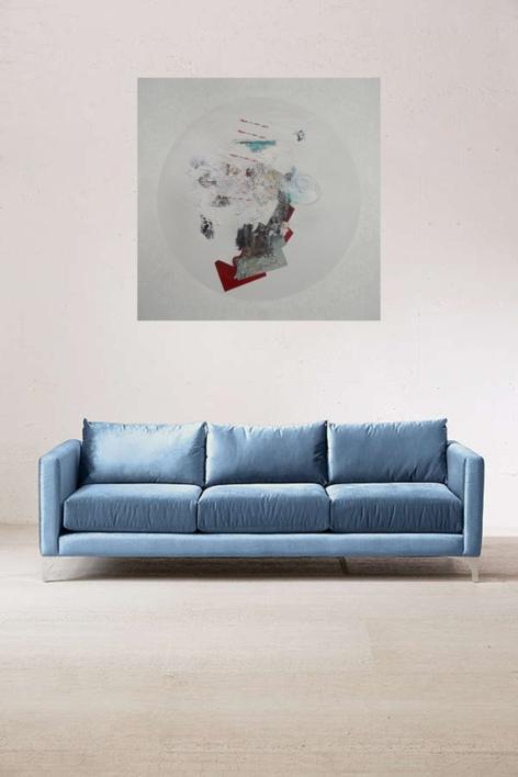 Luna de una historia | Pintura de Raul Eberhard | Compra arte en Flecha.es