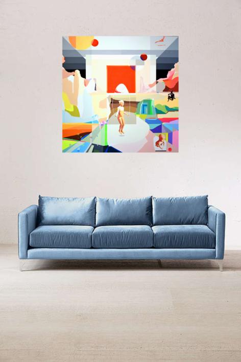 Un nuevo comienzo | Pintura de ALEJOS | Compra arte en Flecha.es