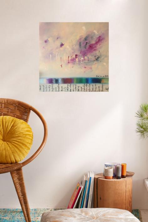 Unavoidable 22 @motios I | Pintura de María Julia Bennassar | Compra arte en Flecha.es