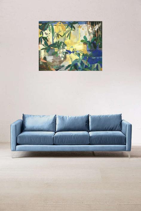 """Tienda de orquideas 12"" | Pintura de Carolina Veramendi B | Compra arte en Flecha.es"