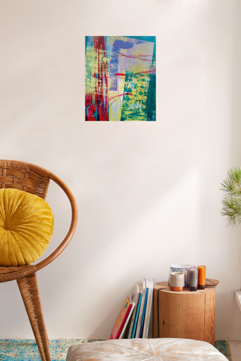 S/T SERIE TEXTURAS DE COLOR REF.129 | Pintura de Patxo  Cruceta | Compra arte en Flecha.es