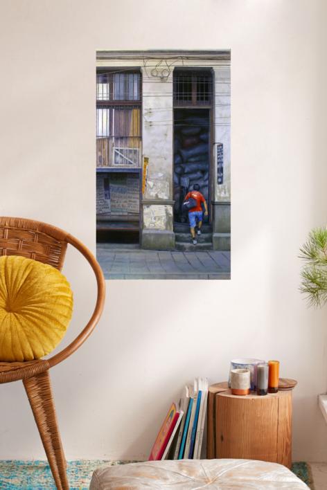 bodega | Pintura de MBravoBecerra | Compra arte en Flecha.es