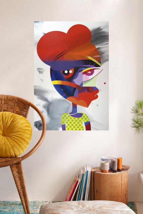 Portrait | Pintura de Jose Palacios | Compra arte en Flecha.es