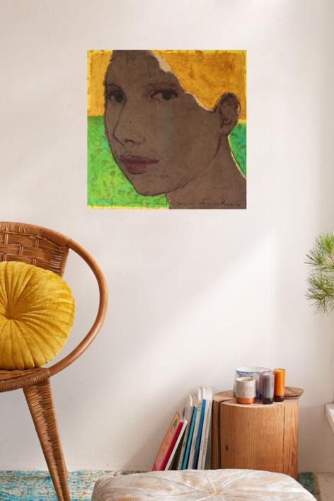 """EUGENIA"" | Pintura de Eduardo Salazar | Compra arte en Flecha.es"