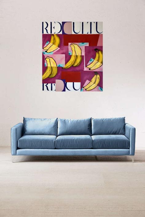 CULTURED VOL I | Pintura de Nadia Jaber | Compra arte en Flecha.es