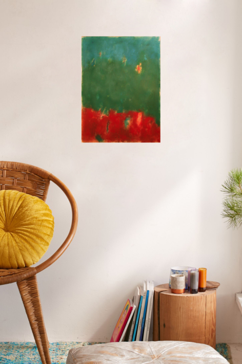 Skylandfire   Pintura de Luis Medina   Compra arte en Flecha.es