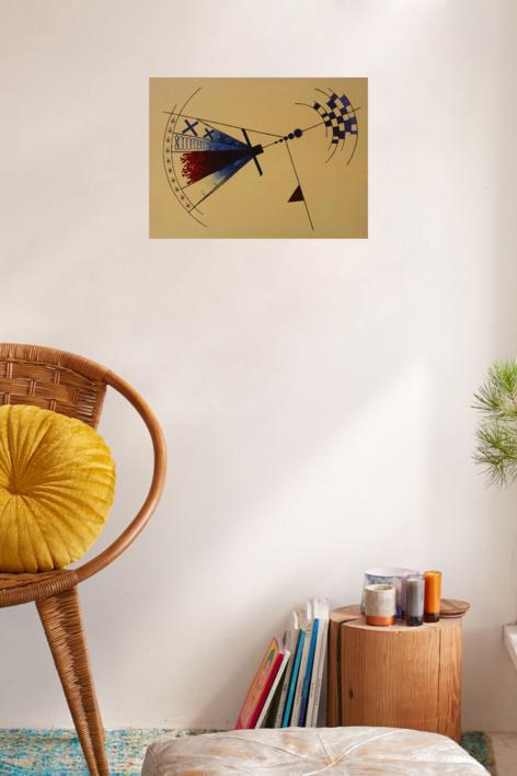 Manufactured Freedom/Slavery   Pintura de Alina Mar   Compra arte en Flecha.es