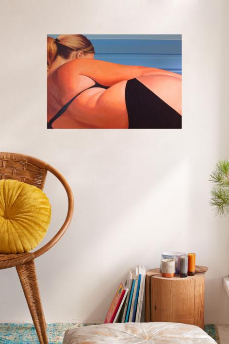 I love Flesh   Pintura de Aurora Rumí   Compra arte en Flecha.es