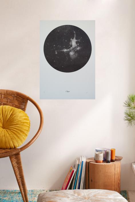 Taygete | Obra gráfica de Elisa de la Torre | Compra arte en Flecha.es