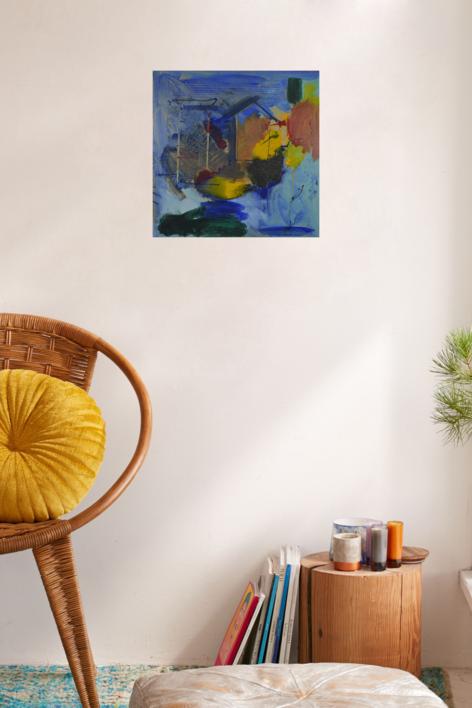 JULIO12 | Pintura de JCuenca | Compra arte en Flecha.es