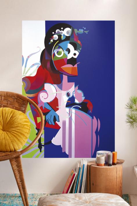 Isabel sentada | Pintura de Jose Palacios | Compra arte en Flecha.es
