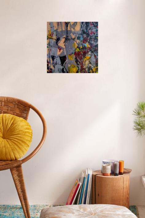 Collection 7 number 5 | Pintura de Manuel Berbel | Compra arte en Flecha.es