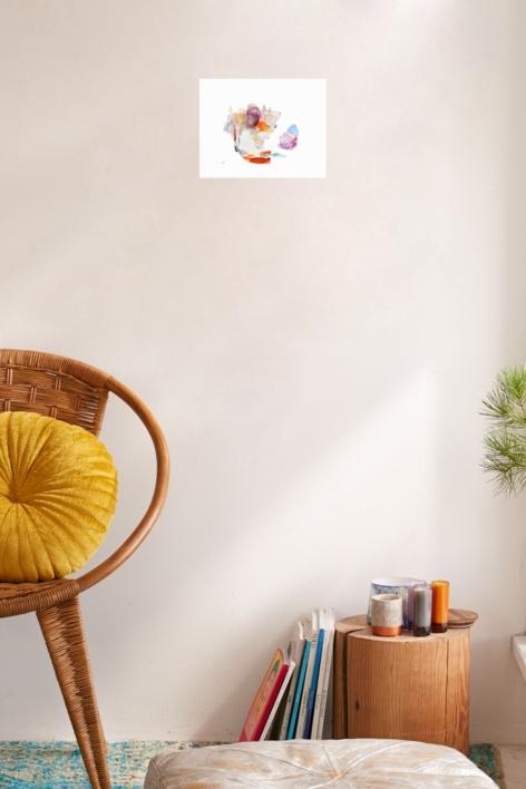 Perros en la habitación | Dibujo de Álvaro Marzán | Compra arte en Flecha.es