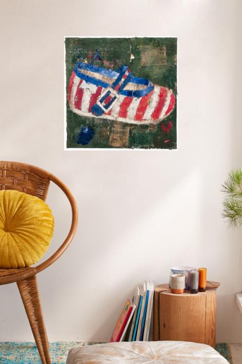 ZAPATO DE NIÑA.   Pintura de Barbeito   Compra arte en Flecha.es