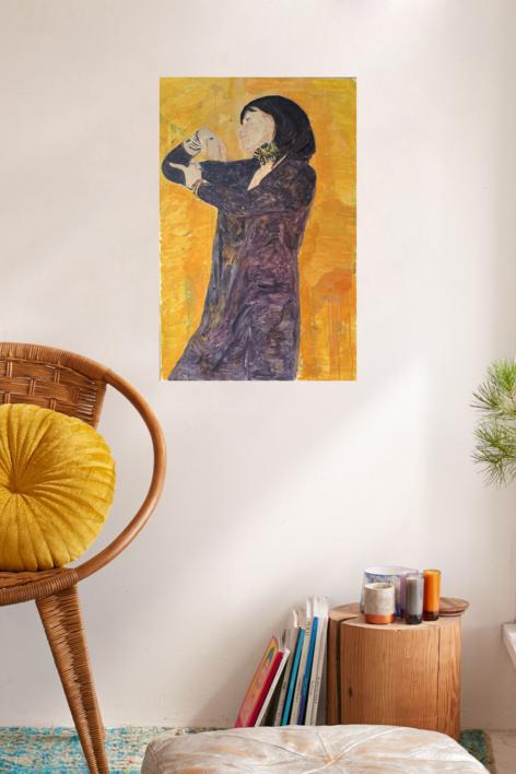 Salomé | Pintura de Eduardo Alvarado | Compra arte en Flecha.es