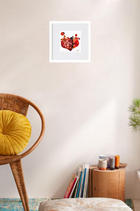 Maduixa - Fresa | Ilustración de RICHARD MARTIN | Compra arte en Flecha.es