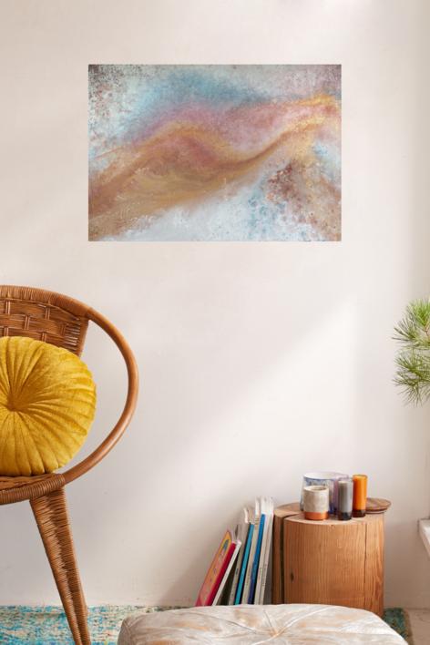CM [tierras] XXII | Pintura de Elisa de la Torre | Compra arte en Flecha.es