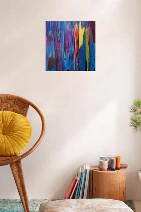 Kutai | Pintura de Maite Rodriguez | Compra arte en Flecha.es